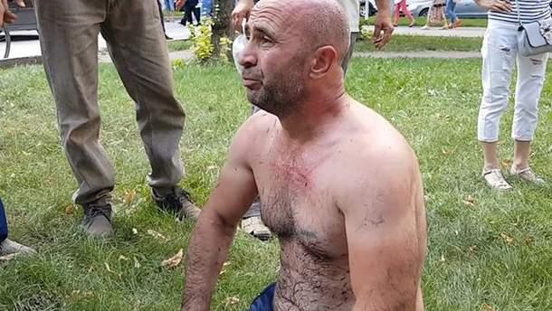 Ватан Карабаш совершил попытку самосожжения в центре Симферополя