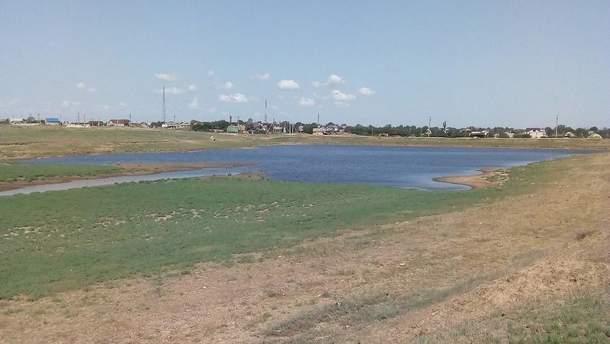 В Крыму из-за засухи высохло озеро