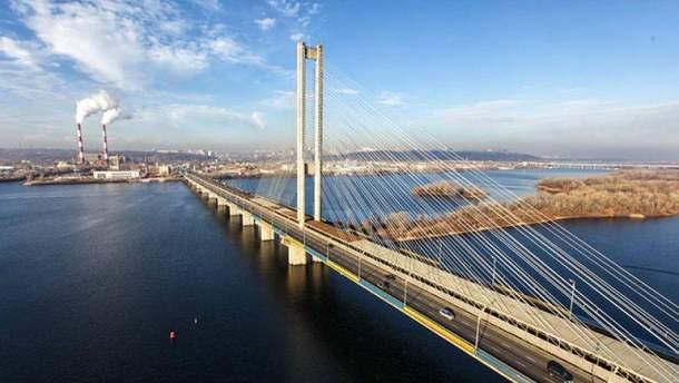 У Києві 4 серпня обмежать рух Північним мостом