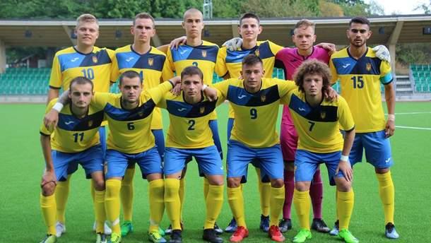 Дефлимпийская сборная Украины по футболу
