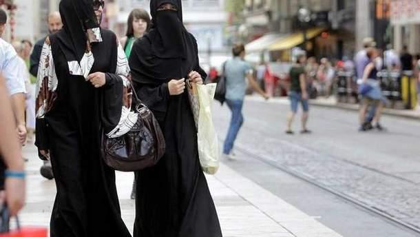 У Данії вперше оштрафували жінку за носіння нікаба