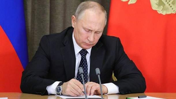Путін підписав обурливий закон про надра окупованого Криму