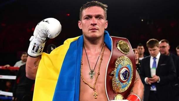Усик рассказал, когда может закончить боксерскую карьеру