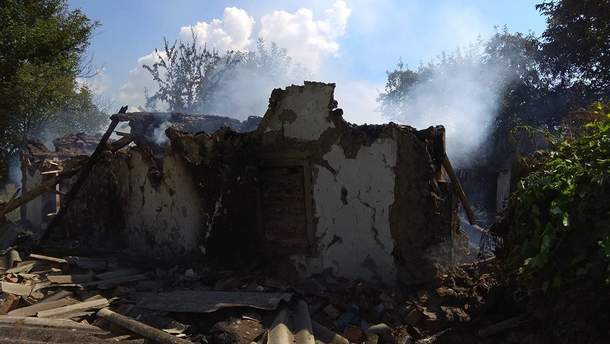 На Полтавщині у будинку вибухнув газовий балон: фото з місця вибуху