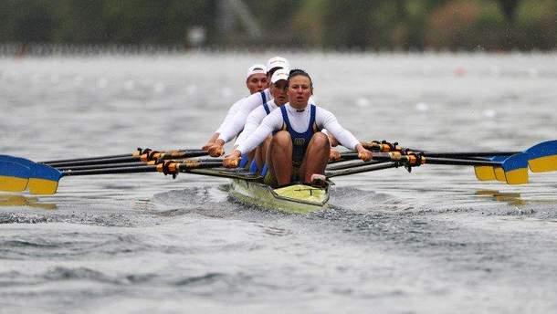 Украинки выиграли серебро на чемпионате Европы по гребле