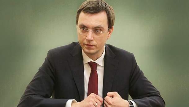 Омелян раскритиковал действия России в Азовском море