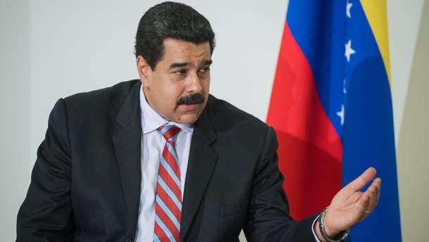 Мадуро обратился кнароду после попытки покушения