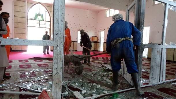 """Відповідальність за вибух у мечеті міста Гардез взяла на себе """"Ісламська держава"""""""