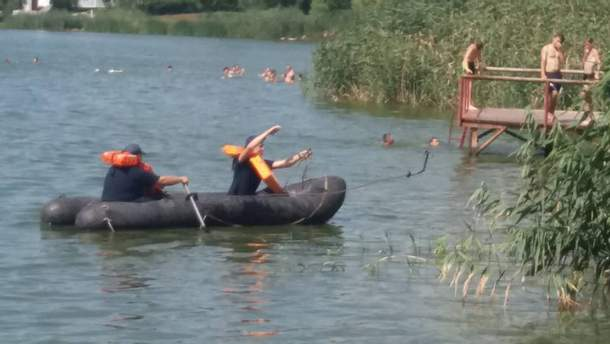 У Кропивницькому на на Новомиколаївському пляжі потонув юнак