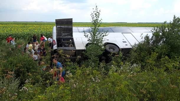 ДТП на Волыни с белорусскими туристами