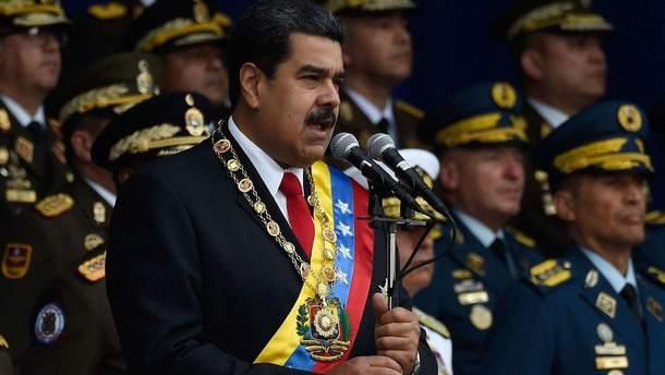 Обнародовано полное видео покушения на Мадуро