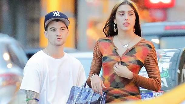 Донька Мадонни Лурдес з хлопцем