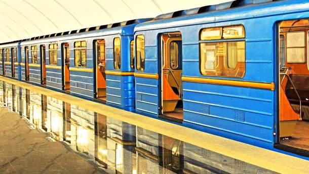 В метро Киева произошел сбой на синей линии: несколько станций не работают