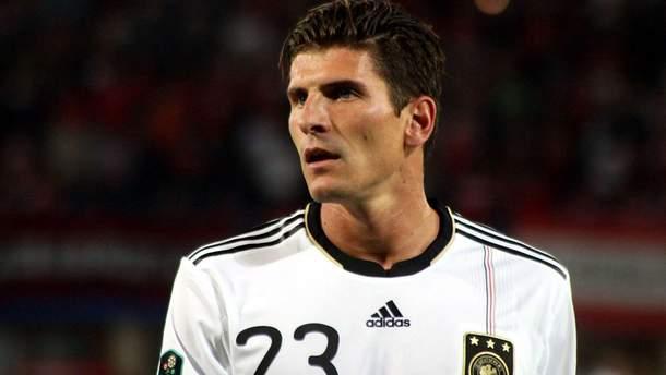 Маріо Гомес завершив кар'єру в збірній Німеччини