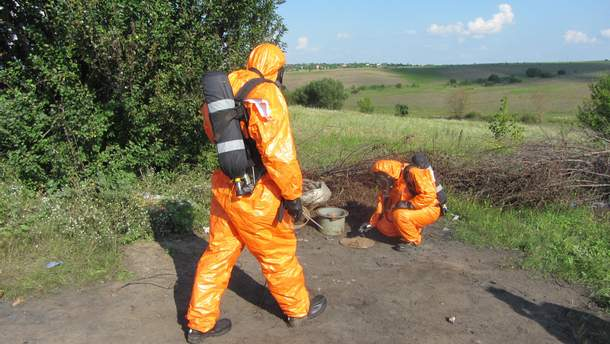 В Хмельницком нашли контейнер с радиоактивным ураном