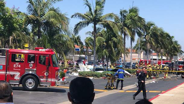 В Калифорнии в результате крушения самолета погибли пять человек
