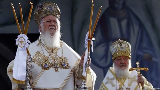 Тимчук прокомментировал предстоящую поездку патриарха Кирилла к патриарху Варфоломею