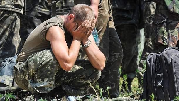 Выстрелом в голову закончился конфликт между военными на Донетчине