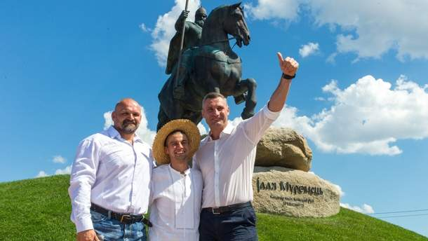 Відкриття пам'ятника Іллі Муромцю