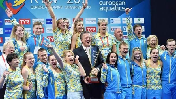 Киев примет Чемпионат Европы 2019 по прыжкам в воду