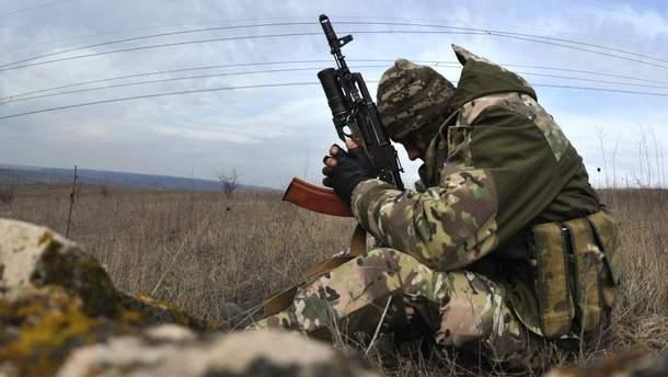 В течение дня двое украинских военных получили ранения