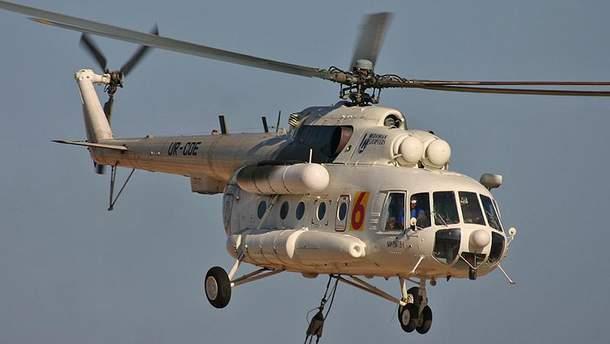 У Росії почали проводити експертизу тіл загиблих у аварії вертольота Мі-8
