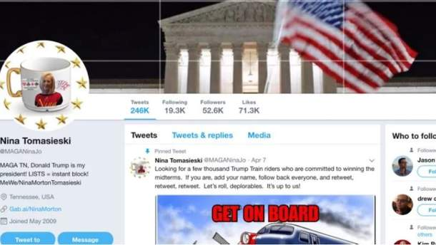 """Twitter заблокував бабусю, яка 14 годин на добу """"спамила"""" на підтримку Трампа"""