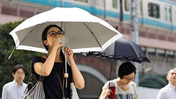 В Японии продолжается аномальная жара