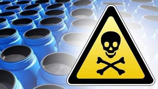 Отстойник ядовитых отходов Торецкого фенольного завода находится под угрозой прорыва