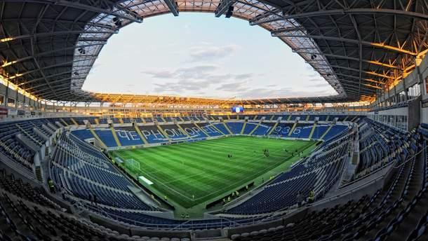Картинки по запросу стадион Черноморец зимой