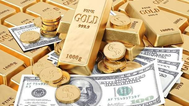 У Украины сократились золотовалютные резервы