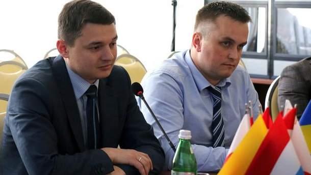 Руководитель САП Назар Холодницкий и его заместитель Владимир Кривенко
