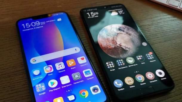Смартфон Huawei P smart + с 4 камерами можно купить в Украине