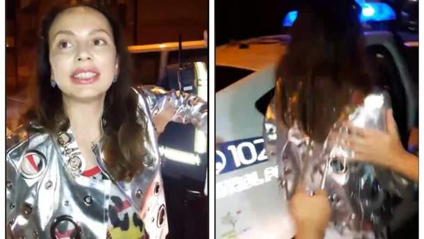 В Тернополе пьяная женщина обматерила полицейских