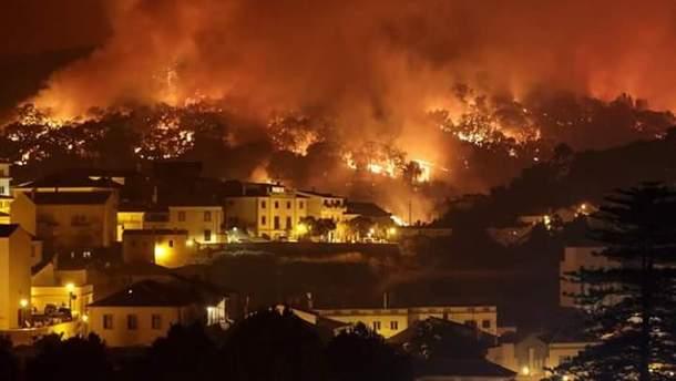Украинцам рекомендуют не ехать в Португалию из-за пожара