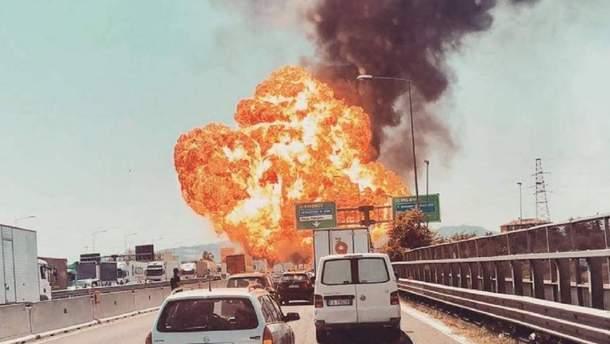 Взрыв в Болонье