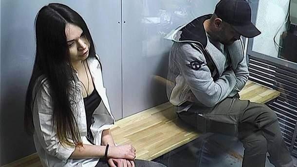 Участники ДТП в Харькове Зайцева и Дронов