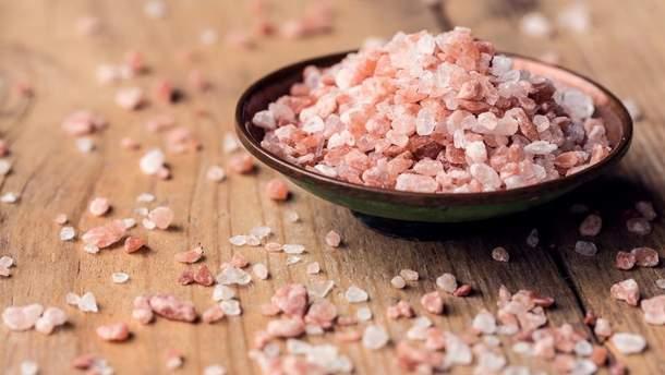 Гималайская розовая соль — польза и вред