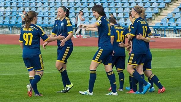 Украинская команда разгромила соперниц 8:0 в женской Лиге Чемпионов