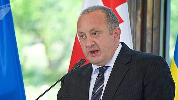 Президент Грузии жестко высказался об агрессии России