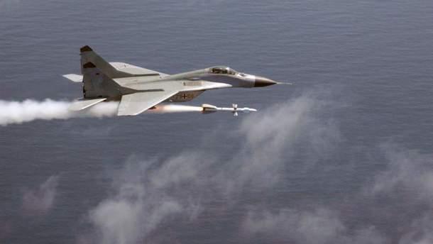 Літак ВПС Іспанії помилково випустив бойову ракету над Естонією