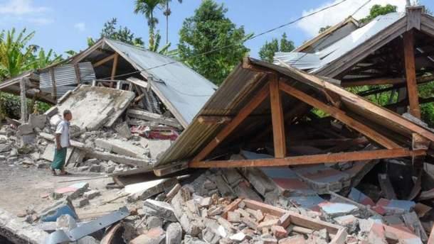 Землетрус в Індонезії