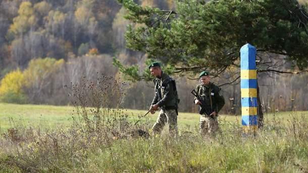 Контрабандисты обстреляли пограничников на Закарпатье