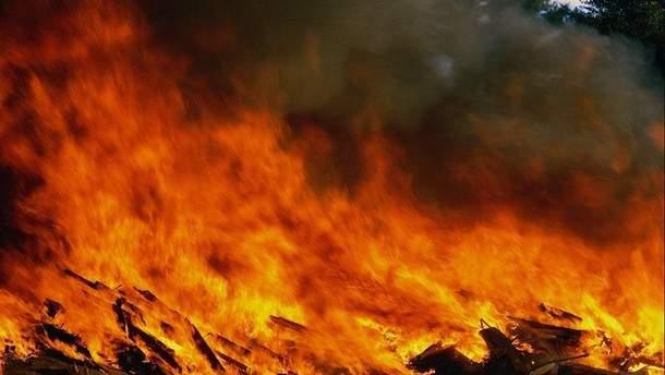 Пожежі у Португалії