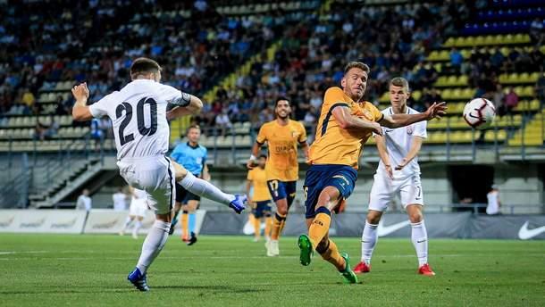 Заря – Брага видео голов матча Лиги Европы