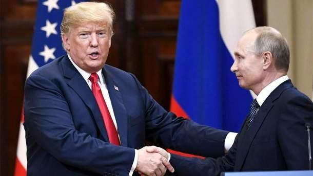 Саміт Трампа і Путіна в Гельсінкі спонукав законодавців США до розроблення нових санкцій проти РФ
