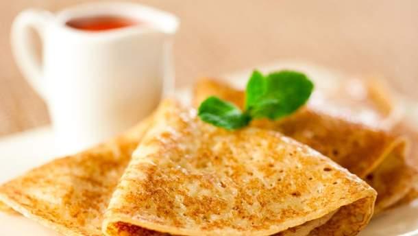 Млинці на молоці - простий рецепт тонких млинців