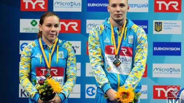 Виктория Кесарь и Станислав Олиферчик
