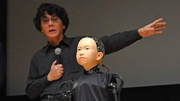 Японцы создали человекоподобного робота