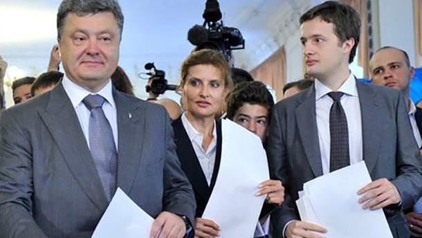 Петро Порошенко подарував синові Олексію частину прав на свій будинок